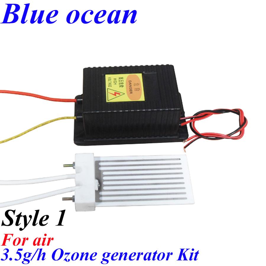 BO-2203PWAM-B, AC220V/AC110V 3.5g Ceramic plate ozone generator Air cleaner Air disinfection Deodorization In addition to taste(China (Mainland))