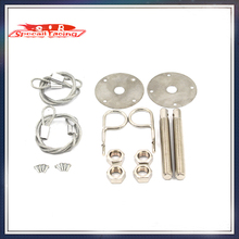 Special Racing - Universal Car Plus Flush Hood Latch Pin Kit Racing Auto Engine Locks Bonnet Locking Hood Kit(China (Mainland))