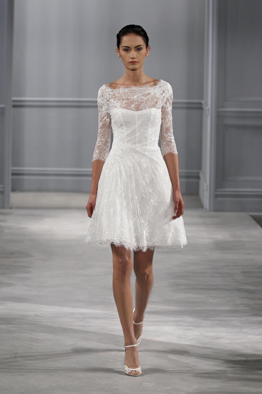 Turmec long sleeve knee length wedding dress long sleeve knee length wedding dress junglespirit Choice Image