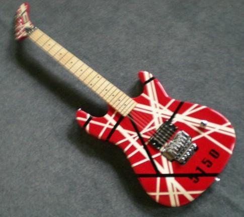 Kramer Evh eddie VAN HALEN 5150 stratocaster Black & red white Frankenstrat frankenstein strat Electric Guitar Deposit!(China (Mainland))