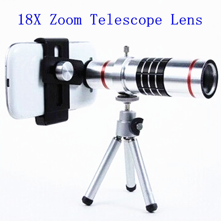 18x universal Zoom optical Telescope Camera telephoto Lens tripod Samsung iphone HTC - Digital_online007 store