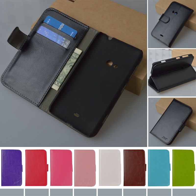 For Lumia 625 Wallet PU Leather Stand Flip Case for Nokia Lumia 625 Cover Book style Phone Bag Cases Original J&R Brand 9 colors(China (Mainland))