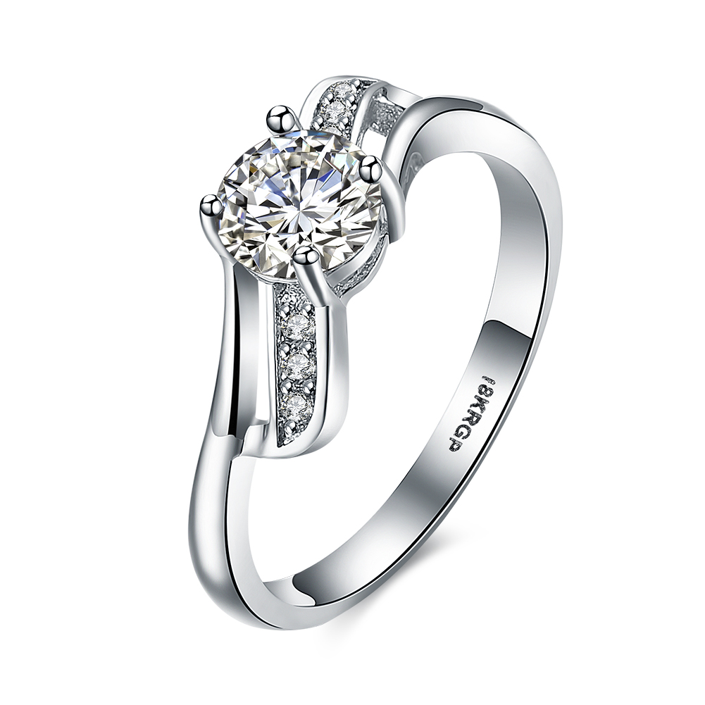 lureme top quality women wedding ring platinum plated hearts arrows cut round aaa cubic zircon. Black Bedroom Furniture Sets. Home Design Ideas