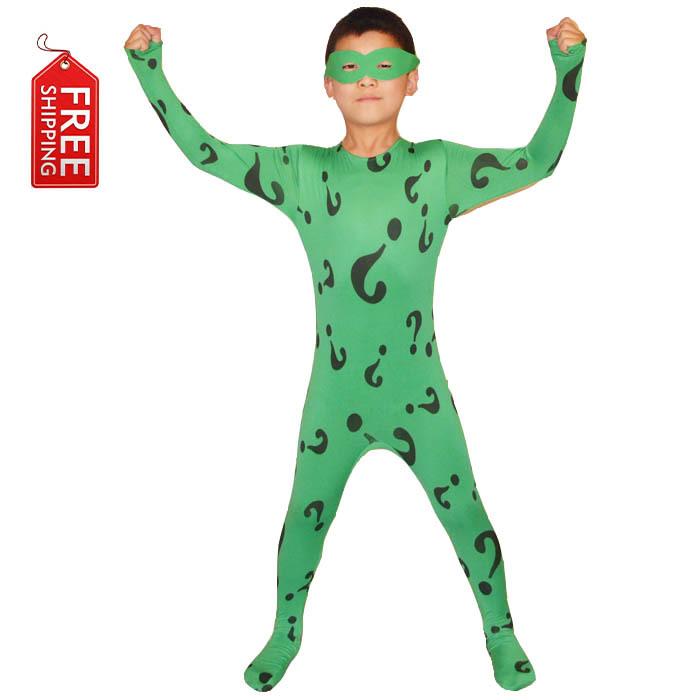Riddler Costume For Kids Boys Riddler Costume Kids
