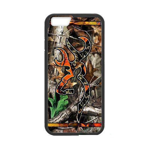 Camo Browning Deer Logo cellphone case cover for iphone 4s 5s 5c 6s plus ipod touch4/5 Samsung Galaxy S3/4/5/6/edge+ Note2/3/4/5(China (Mainland))
