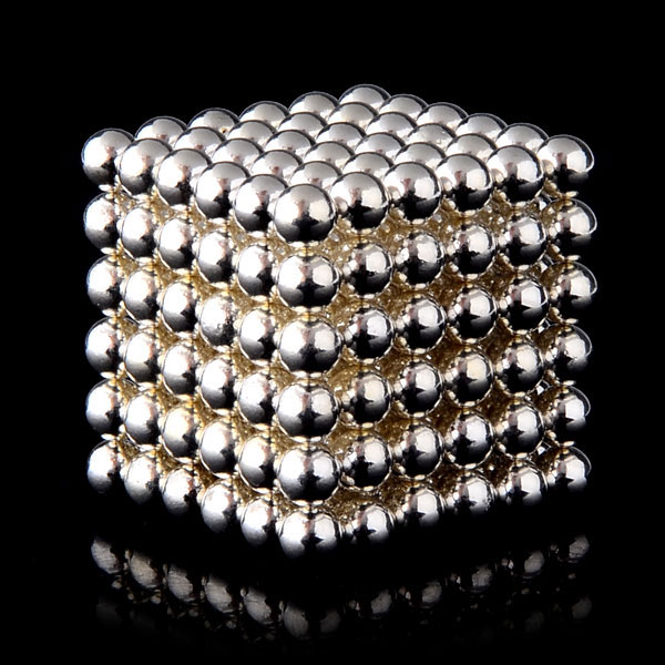 2015 Brand New 216Pcs 5mm Buckyballs Magnetic Balls Sphere Puzzle Cube Neocube Neodymium Magnet with Metal Box 10 Colors(China (Mainland))