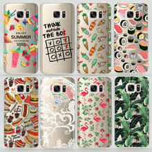 TPU Soft Case For Samsung Galaxy S6 S6 Edge G920 G925 Transparent Ultra-Thin Silicone Phone Cover For Samsung Galaxy S6