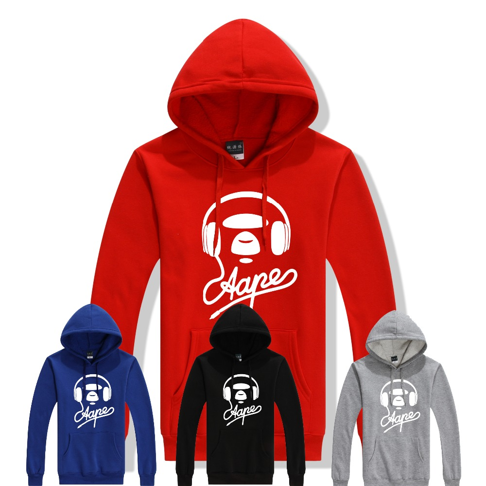 aape bape sweatshirt 2015 sweatshirts new brand winter men hooded hoody hoodie moletom fleece. Black Bedroom Furniture Sets. Home Design Ideas