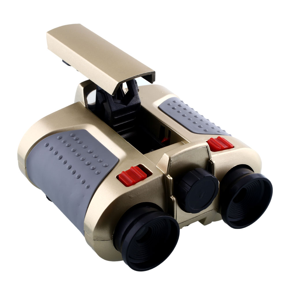 4x30mm Night Vision Viewer Surveillance Scope Binoculars Telescope Pop-up Light High Quality Brand New(China (Mainland))
