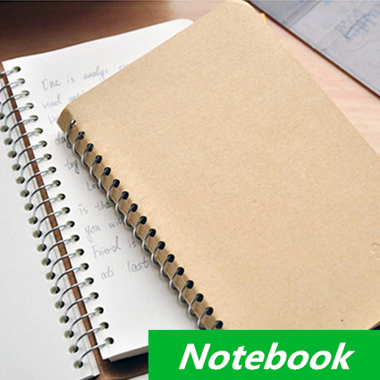 2015 Vintage Notebook Spiral Diary book Daily Memos Note book Stationery Office &amp; School Supplies<br><br>Aliexpress