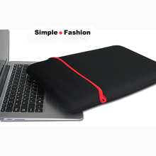 Free Shipping Waterproof Notebook Sleeve Laptop Bag Protective Case full sleeve for 7″ 8″ 9″ 10″ 11″ 12″ 13″ 14″ 15″