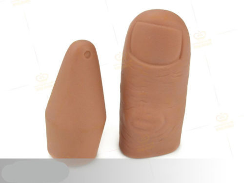 Magic Trick Finger Thumb Tips Change Into Fish(China (Mainland))