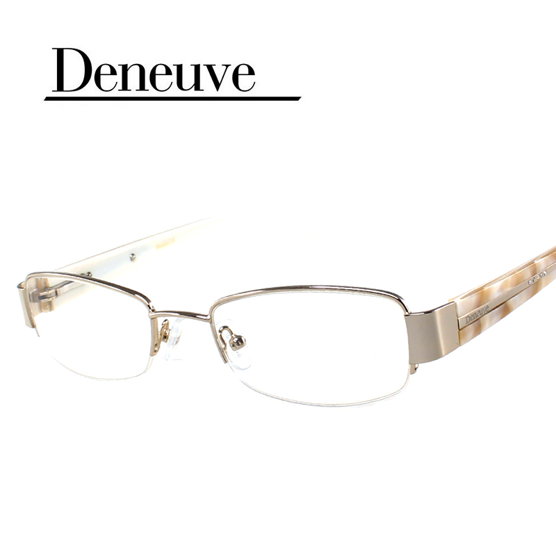 Eyeglass Frames Half Rim : 2016-new-design-fashion-lady-style-half-rim-optical ...