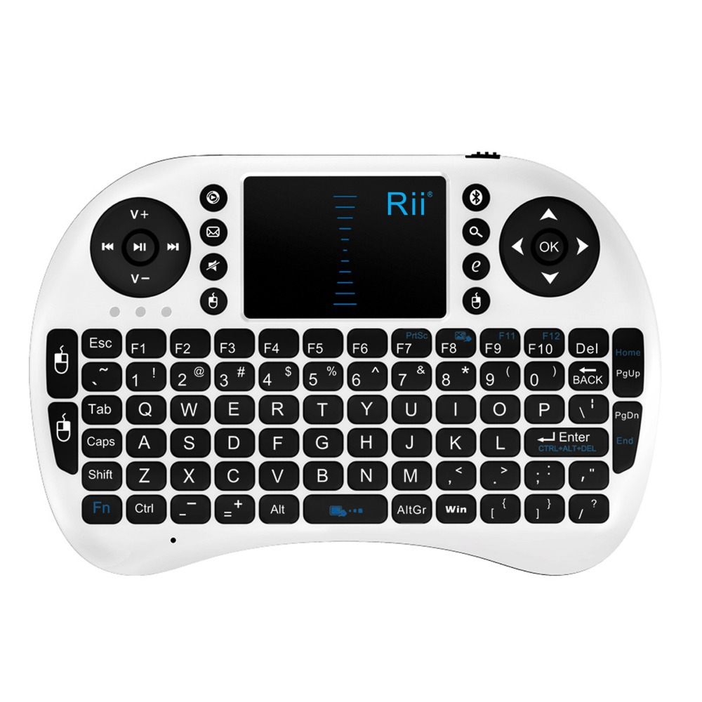 Rii mini i8 2.4G Fly Air Mouse Wireless gaming Keyboard Combos touchpad multi-media control For CS918 M8 Smart TV Box Mini PC(China (Mainland))