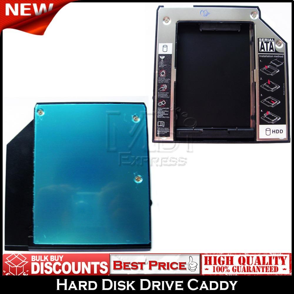 NEW! 9.5mm SATA 2nd HDD Adapter Caddy Bay Tray for IBM Lenovo T400 T400s 43N3412(China (Mainland))