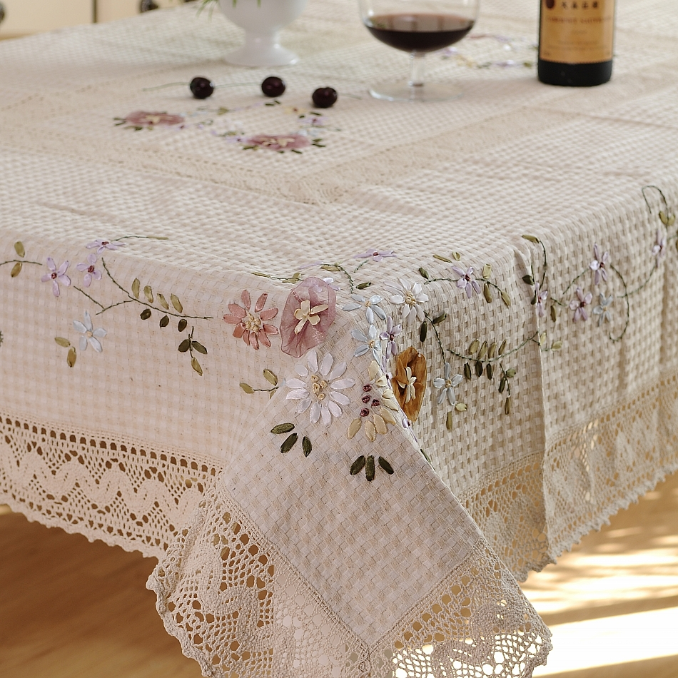 Aliexpress buy fashion rustic dining table cloth
