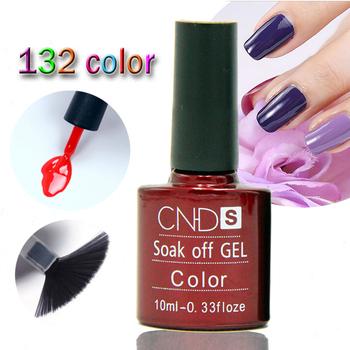 Nail Gel Polish UV&LED Shining Colorful 132 Colors10ML Long lasting soak off Varnish cheap Manicure