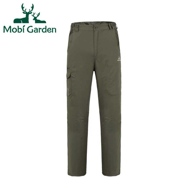 Mobi Garden Outdoor Pants Climbing Camping Hiking Pants Men Hiking Trekking Pants Hunting Pants Fishing Sport ZMA1302039 MKY175