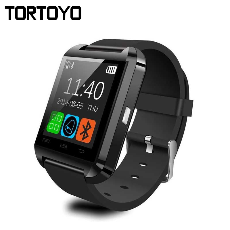 Cheap Business Sports Passometer Bluetooth U8 Smart Watch Phone Wristwatch SmartWatch Clock for iPhone IOS for Samsung Android(China (Mainland))