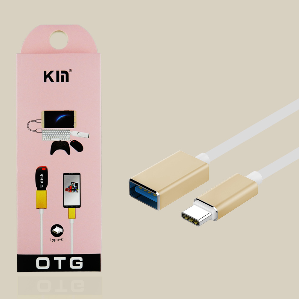 KY-106 Type-c OTG  Adapter to USB2.0 Data Cable for MacBook Extended U disk card reader mouse keyboard Android phone iphone5/6s