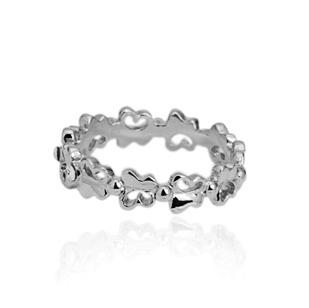 Кольцо ITALINA Rigant 18K #RG95125w ювелирный набор italina rigant 2015 il69 18k crystal