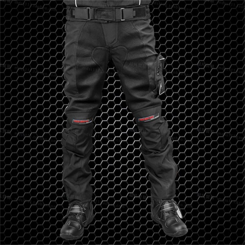 PRO-BIKER motorcycle racing suit pants riding clothes drop resistance knee pads - Motorcycle protective equipment store