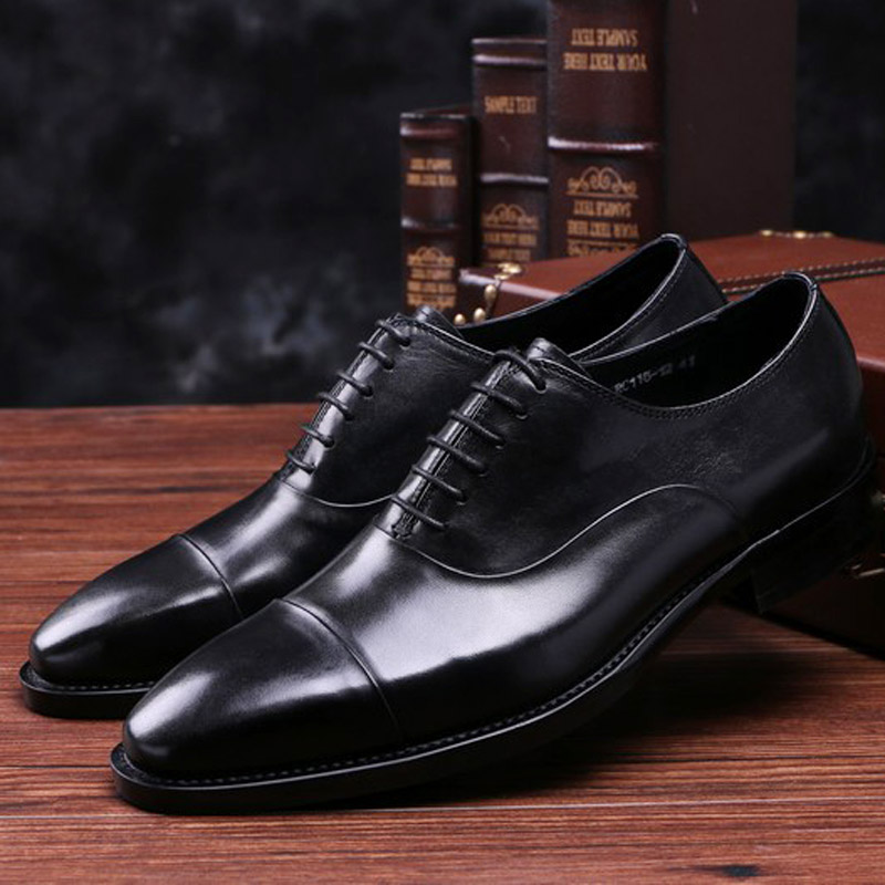 2016 new men's leather leather pointed British business men's dress code comfortable fashion shoes joint British free delivery(China (Mainland))