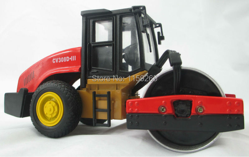 1:32 scale Metal road roller toy, construction truck toy(China (Mainland))