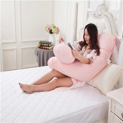 Multifunction pillow pregnant women cotton nursing body massage u-pillow waist positional