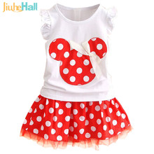 New 2016 Summer Sleeveless Mini Girls Dress Ball Gown Princess Dress Cute Pattern Cotton Party Child Dress for 2T-7T Kids FXB020