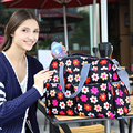 New Arrival Large Capacity Multinational Baby Diaper Bags Fashion Baby Bags Nappy Bags Mommy Floral Messenger