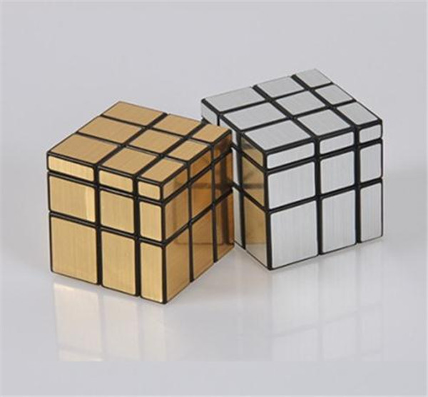 ShengShou Cube Silver 3x3x3 Mirror Surface Puzzle Magic Speed Cube JE288(China (Mainland))