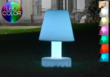 Free Shipping Colorful Rechargeable LED Glowing Desk Table Lamp Touch Sensor led mood table lamp Adjustable LED Reading Light