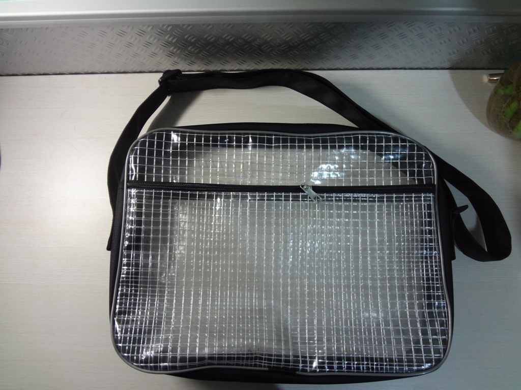 Grid 17 inch computer bag 40*30*8 anti-static anti - static electricity men and women general clean grid package(China (Mainland))