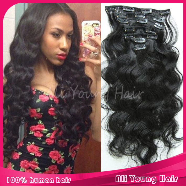 Hair Clip Extensions For African Americans Hair Extension For African