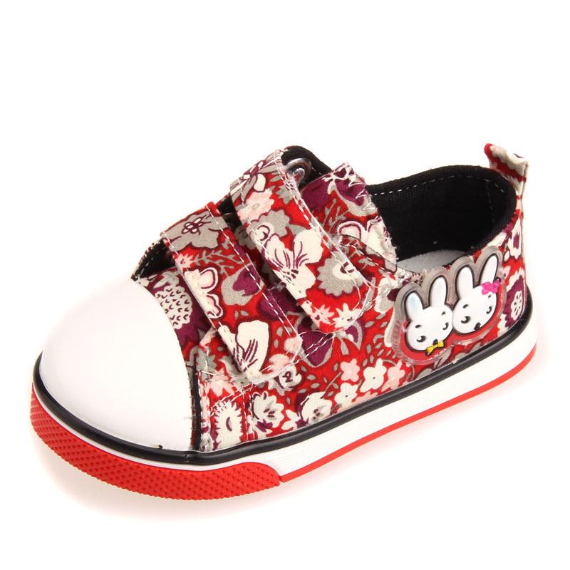 promotion 1pair rubber canvas shoes cheap children
