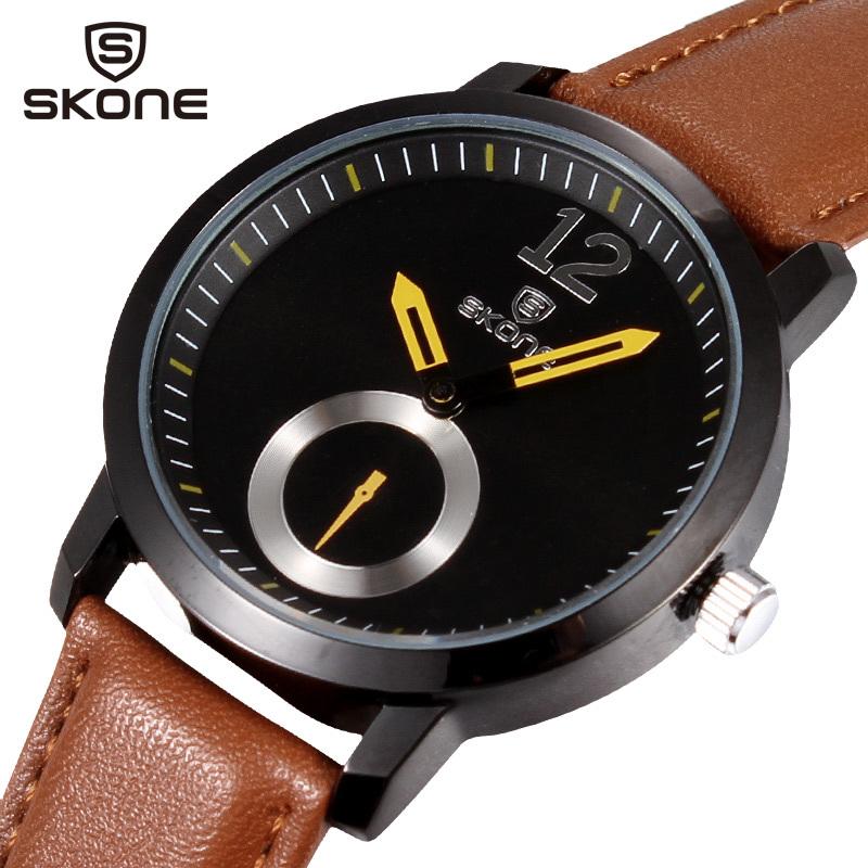 2015 Men Sports Watches Relogio Masculino casual Wristwatch leather strap quartz watch japan movement luxury brand - EPOZZ Watch Official Store store