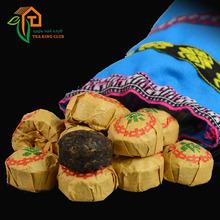 Yunnan menghai Puer ripe bowl tea the Pu erh Pu er Pu er Puerh Pu er