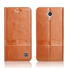 Vintage Genuine Leather Flip Stand Case For Lenovo K80M P90 K80 M 5.5
