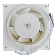 Free shipping Window type ventilator 6 square fans for house High quality PC exhaust fan install