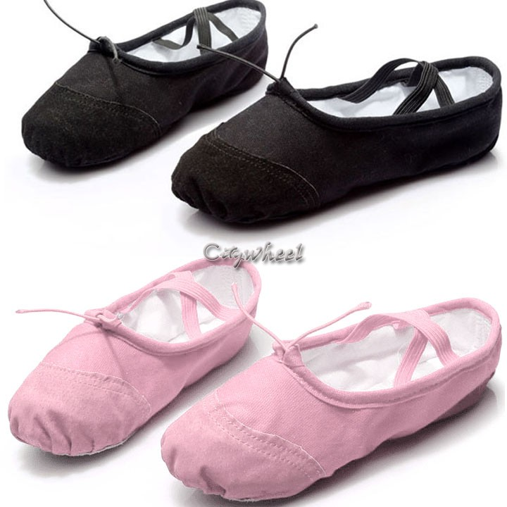 Sansha Pink Ballet Full Leather Sole Ballet Shoes Little Girls 5M-7M See Details Product - Sansha Pink Ballet Split Leather Sole Ballet Shoes Little Girls 5M-7M.