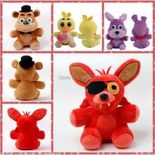 50pcs/lot 25cm Five Nights at Freddy's 4 Children Movies Kids Stuffed Animals Plush Cotton Toys Cartoon Dolls Baby Anime Gift