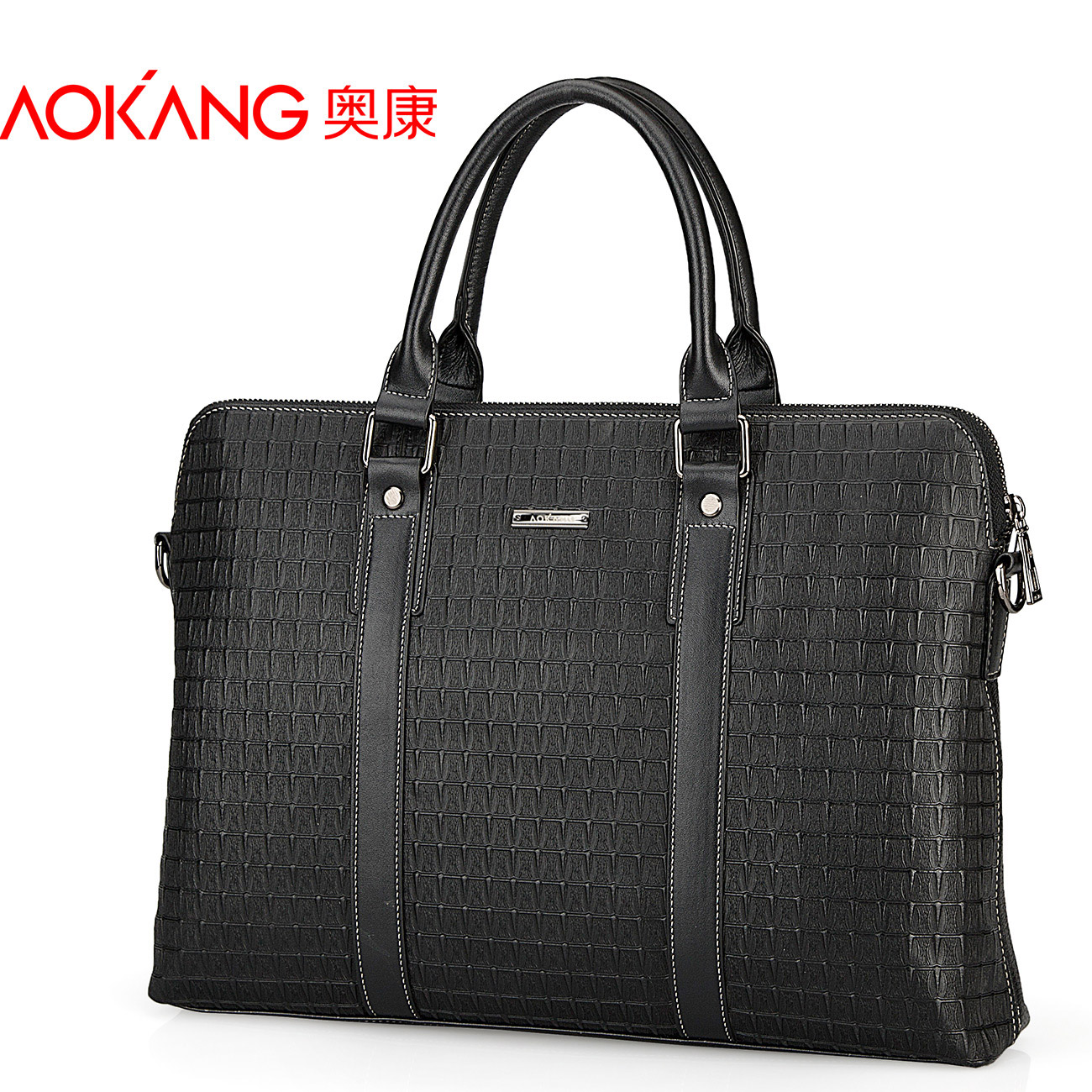Aokang leather fine man bag business casual male genuine leather cross-body shoulder bag first layer of cowhide handbag bag<br><br>Aliexpress