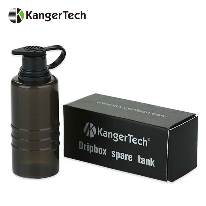 Original Kangertech Dripbox Spare Tank Handy Squeezable Bottle Vape Spare Part 160W/60W Kanger Dripbox e cigarette Accessory