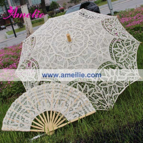 1 шт./лот бесплатная доставка кружева вентилятор и кружева зонтик