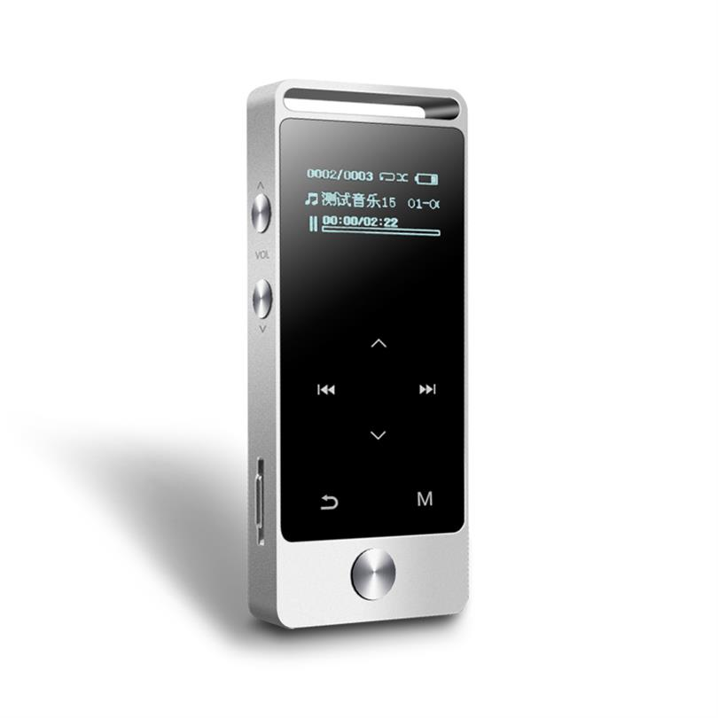Original Touch Button BENJIE S5 8GB MP3 Music Player High Quality Lossless Alloy Metal Body 30 hours Continuous Playback with FM(China (Mainland))