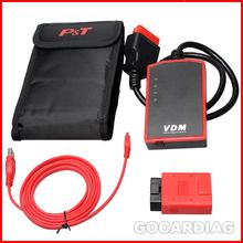High Quality Multiple Languages  VDM UCANDAS V3.8 WIFI Diagnostic Tool Original Automotive Device With Adapter(China (Mainland))