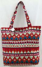 fashion Arab Byron Islam Lady women handbag cotton bag National bucket style free shipping