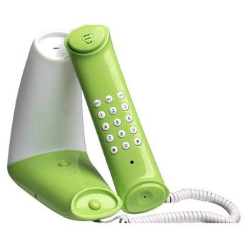 Land Line Telephone with Corded Night Light Luxurious Green Triangular Hot Selling  Recommend !-54717