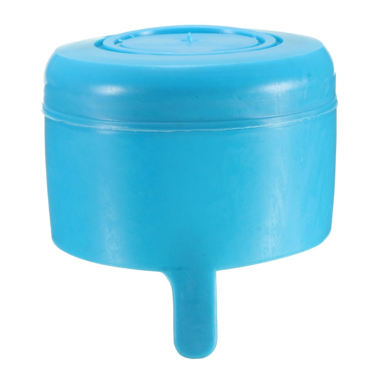 1pcs 3 & 5 Gallon Replacemet Water Bottle Snap On Cap Anti Splash Peel Off Tops travel kits(China (Mainland))
